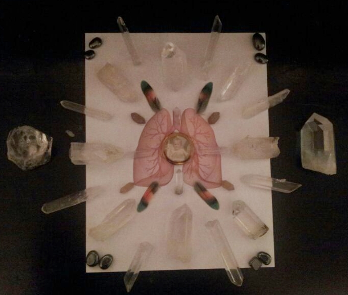 Crystal Grid for Lung Issues - Crystal Genn