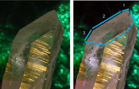 Channeling or Channeler quartz crystal - arkansascrystalworks.com