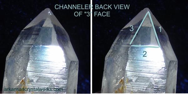Channeler or Channeling quartz crystal - arkansascrystalworks.com