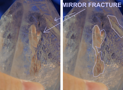 DEVIC TEMPLE mirror fracture