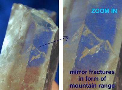 FAIRY FROST mountain mirror fracture