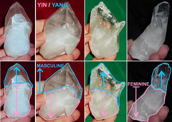 YIN-YANG crystals