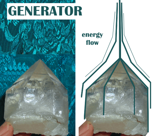 generator crystals energy