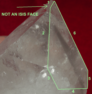 6-sided not Isis Face