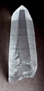 Lemurian Seed crystal photo credit: mineralminersDOTcom