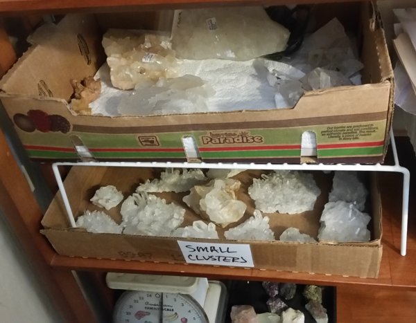 display and enjoy your crystals