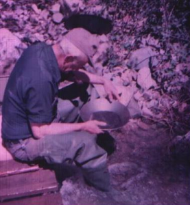 grandpappy panning for gold