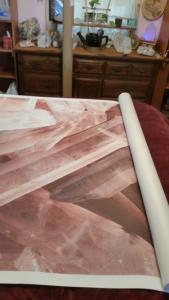 crystal mural arrives from Anna Fell at https://www.muralswallpaper.co.uk/