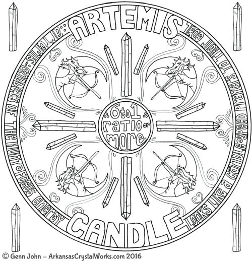 ARTEMIS Crystal Mandalas: Anatomy and Physiology of Quartz Crystals by Genn John