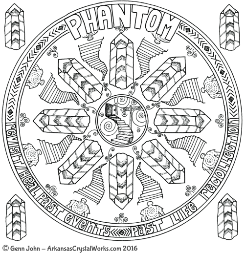 PHANTOM Crystal Mandalas: Anatomy and Physiology of Quartz Crystals by Genn John