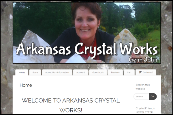 Visit Arkansas Crystal Works Store