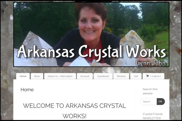 Visit Arkansas Crystal Works Store