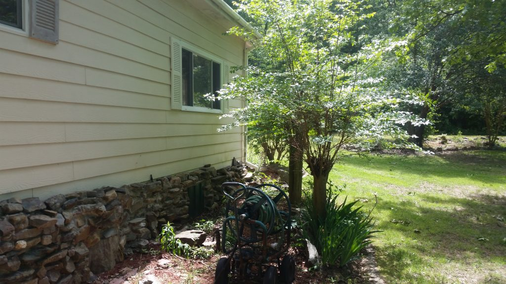 111 Little Bear Trail Hot Springs Arkansas side of house