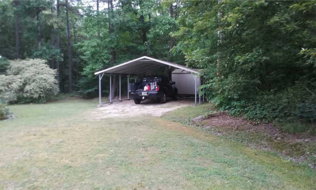111 Little Bear Trail Hot Springs Arkansas carport