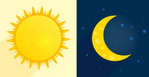 image sun and moon