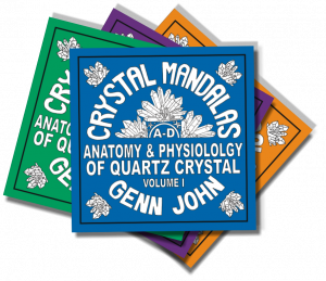 Crystal Mandala Coloring Books